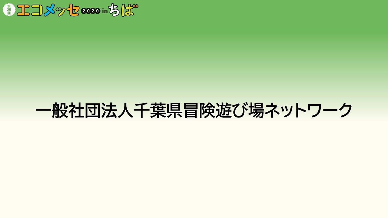 一般社団法人千葉県冒険遊び場ネットワーク